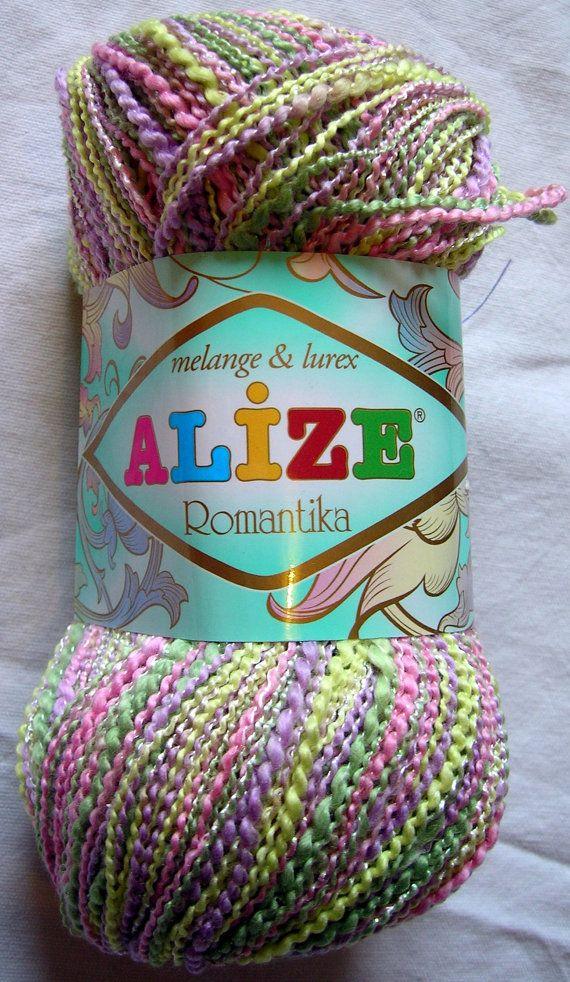 Alize Romantika Hypoallergenic multicolor yarn by HandyFamily, €3.25