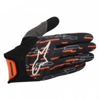 Alpinestars Racer 2012, ideal para uso offroad (enduro, cross, quad, bicicleta de descenso)  -Fabricada en tejido transpirable.  -Ajuste elástico en muñeca para mayor sujeción  -Refuerzo en la palma