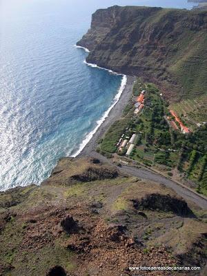 LA GOMERA - FOTOS AEREAS DE CANARIAS Playa del Cabrito http://www.fotosaereasdecanarias.com