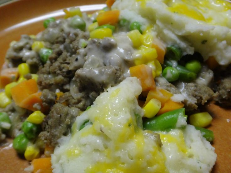 Dutch Oven Shepherd's Pie - awesome for camping