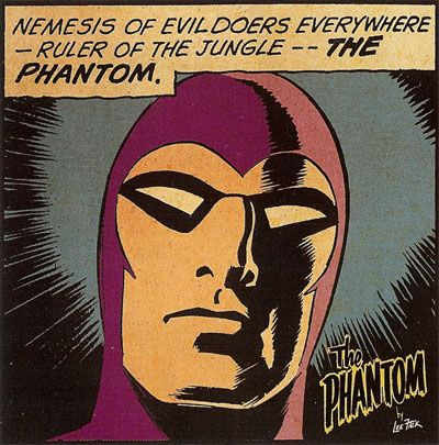 The Phantom: Nemesis of evildoers everywhere... :-)
