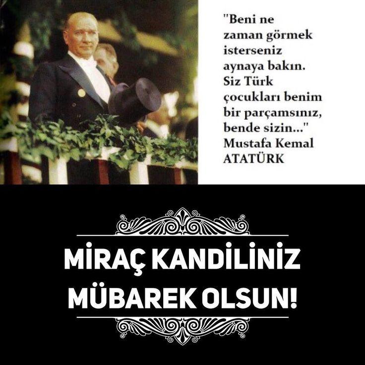 Bugün iki kutlu gün bir arada! Mustafa Kemal Atatürkün tüm dünya çocuklarına hediye ettiği 23 Nisan Ulusal Egemenlik ve Çocuk Bayramı ve Peygamber efendimiz Hz. Muhammedin Miraca yükselişinin kutlanıldığı Miraç Kandili. Herkese kutlu olsun! #Miraç #Kandili #23 #Nisan #Ulusal #Egemenlik #ve #Çocuk #Bayramı #kandilinizmübarekolsun  #23nisanulusalegemenlikveçocukbayramı
