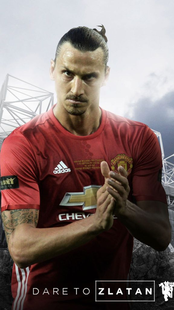 Zlatan Ibrahimovic Manchester United 2016/2017 Mobile Wallpaper
