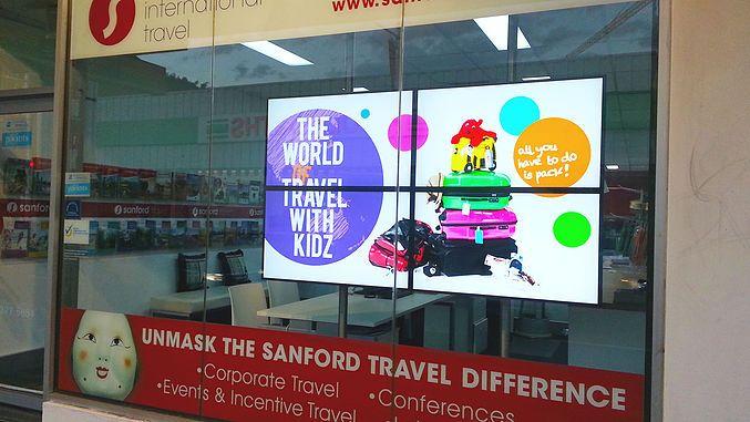 digital signage travel agency - Hľadať Googlom