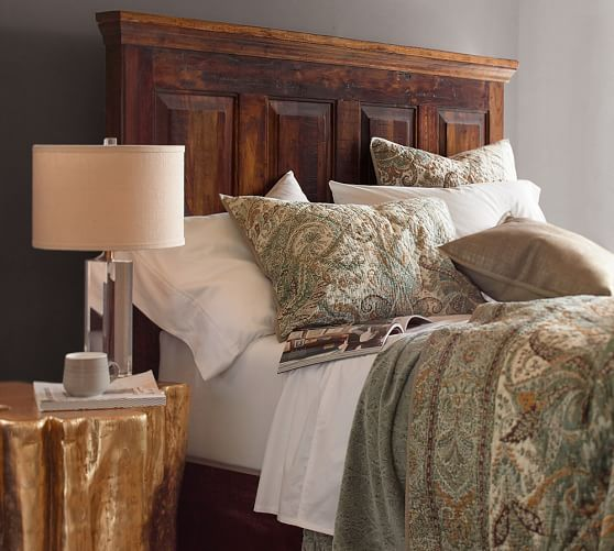 Bowry Reclaimed Wood Bed | Pottery Barn