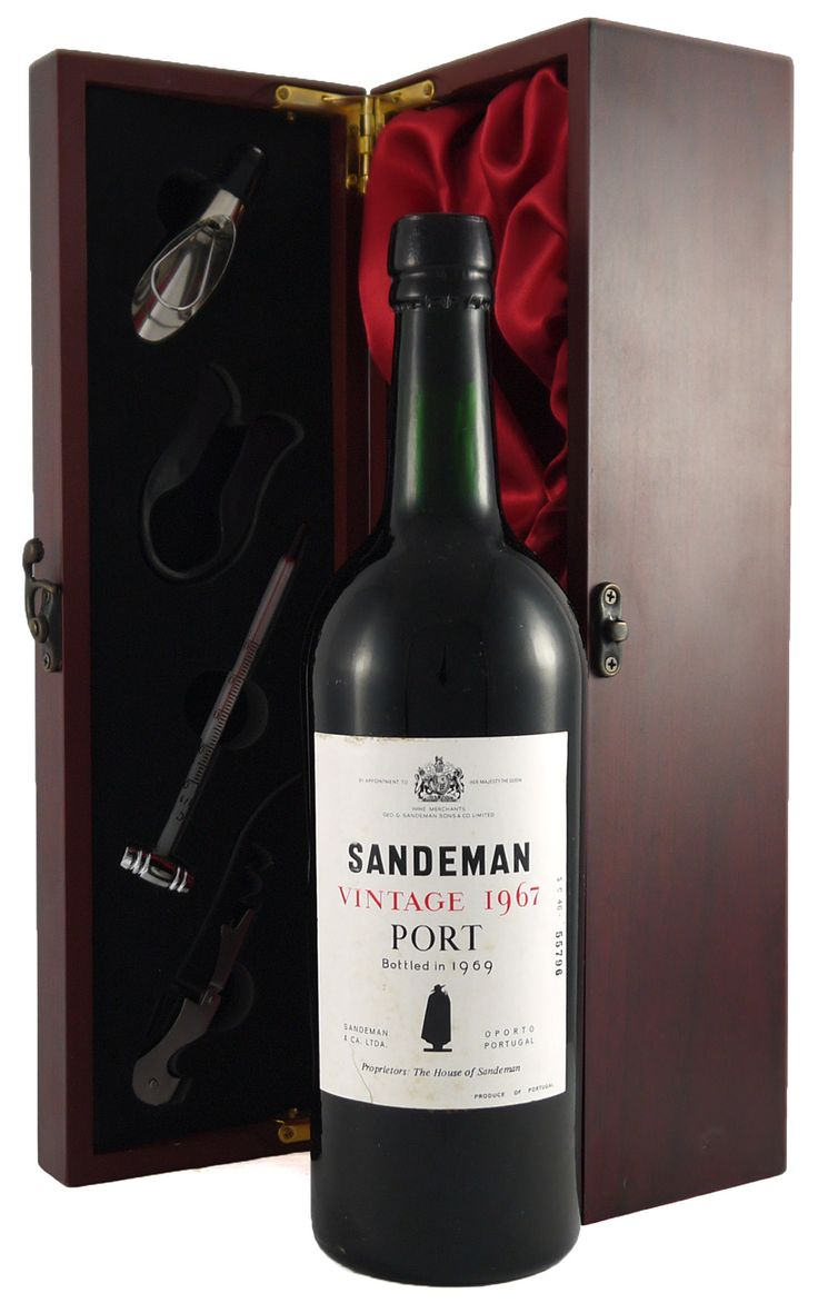 1967 Sandeman #Vintage #Port   Deep and attractive with a sweet nose and is well balanced with a peppery finish.  http://www.vintageportgifts.co.uk/acatalog/Port_under_149_99.html
