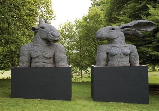 Yorkshire Sculpture Park   Sophie Ryder at YSP