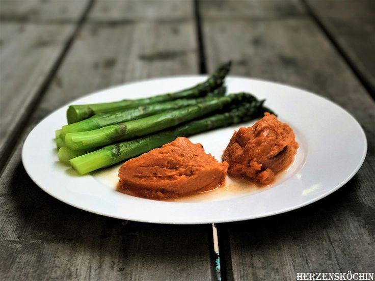 rotes Linsenmus, sogar vegan