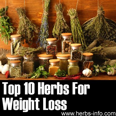 Top 10 Herbs for Weight Loss #weight #diet #herbalremedies
