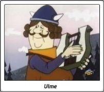 Ulme / Vickie el Vikingo / Wickie und die starken Männer / 1974