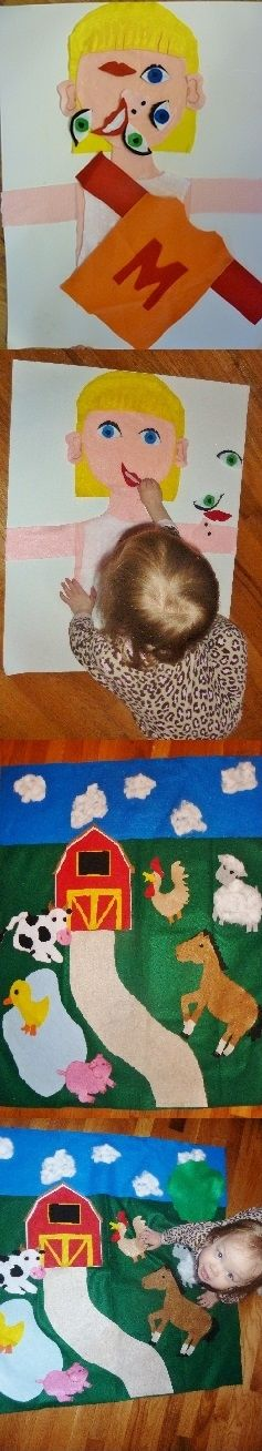 Fun with felt form boards & other toddler activities