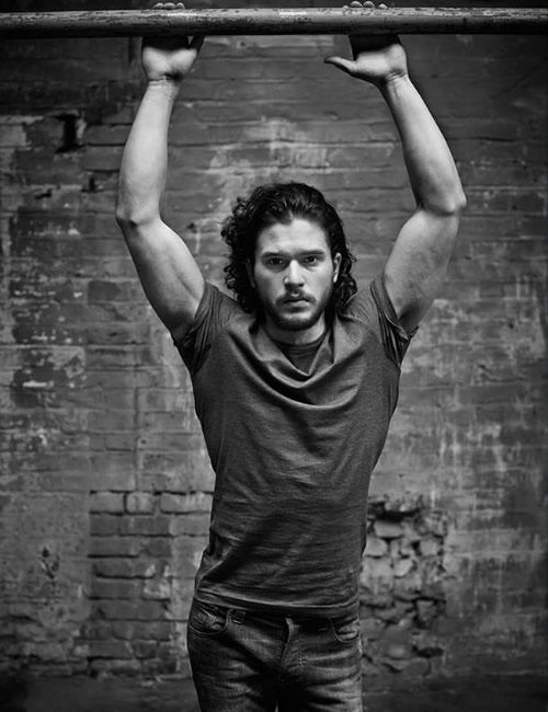 Kit Harington Magazine Cover | Men's Heatlh UK | Pull-ups | Interview | homorazzi.com