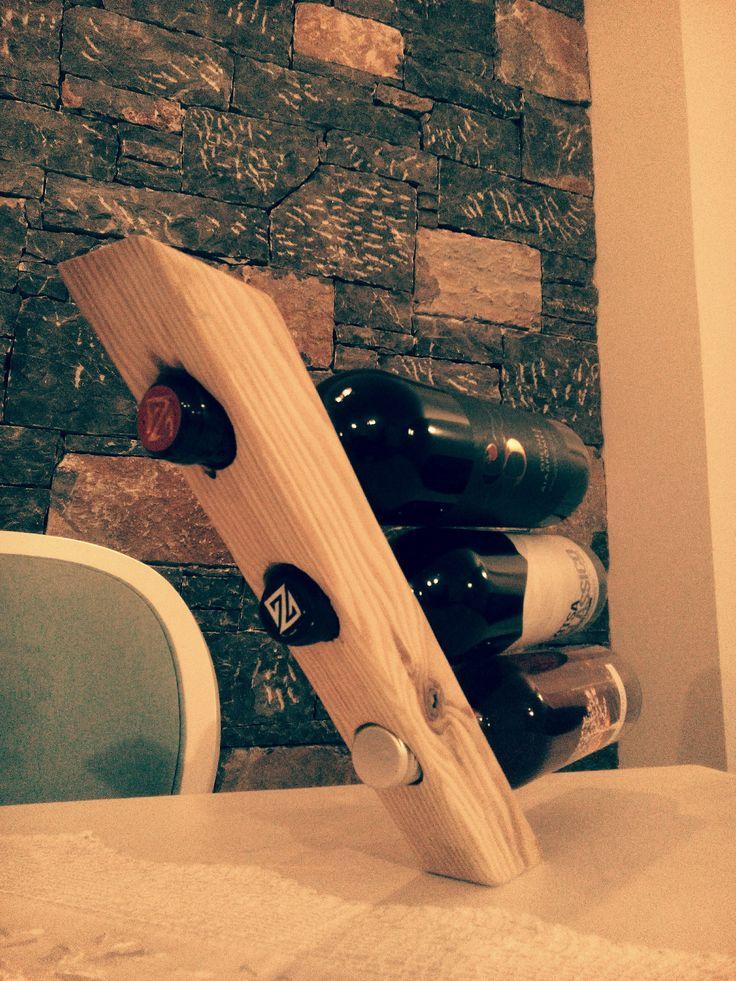 wine rack '' Κάβα ξύλινη