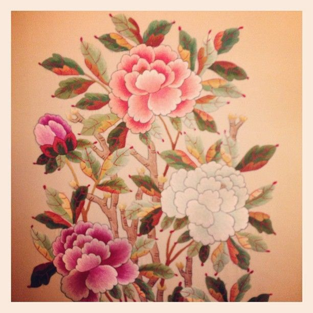 korean embroidery   Miranda Kerr   Korean traditional embroidery   Webstagram - the best ...