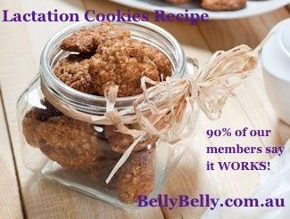 Full recipe here: http://www.bellybelly.com.au/breastfeeding/breastmilk-supply-increase-breastmilk-lactation-cookie-recipe