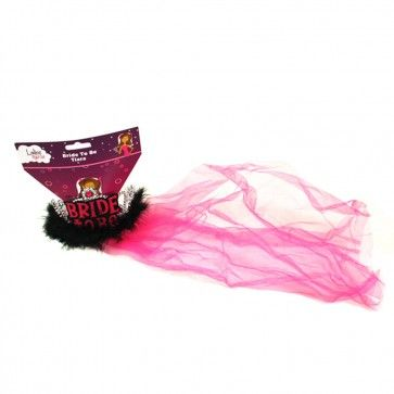 Bride to Be Tiara & Veil  This beautifully designed Bride to be Tiara with pink veil is one of our favourites as no matter how fussy the Bride to Be is she can't not love this headpiece!  $8.95  http://www.peckaproducts.com.au/bride-to-be-tiara-veil.html