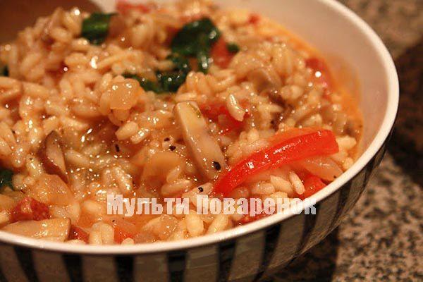 кисло-сладкие кальмары с рисом
