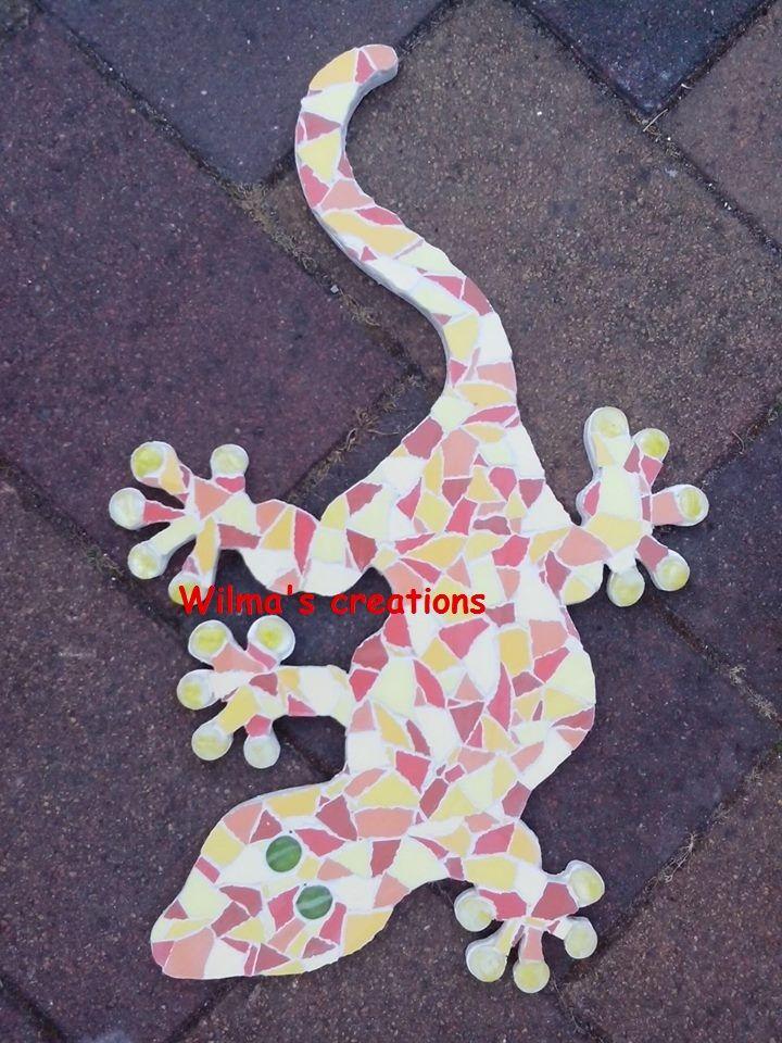 Mozaiek. Wilma's creations.