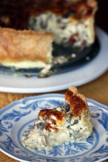 mushroom quiche | Recipes / Food | Pinterest | Mushroom Quiche, Quiche ...