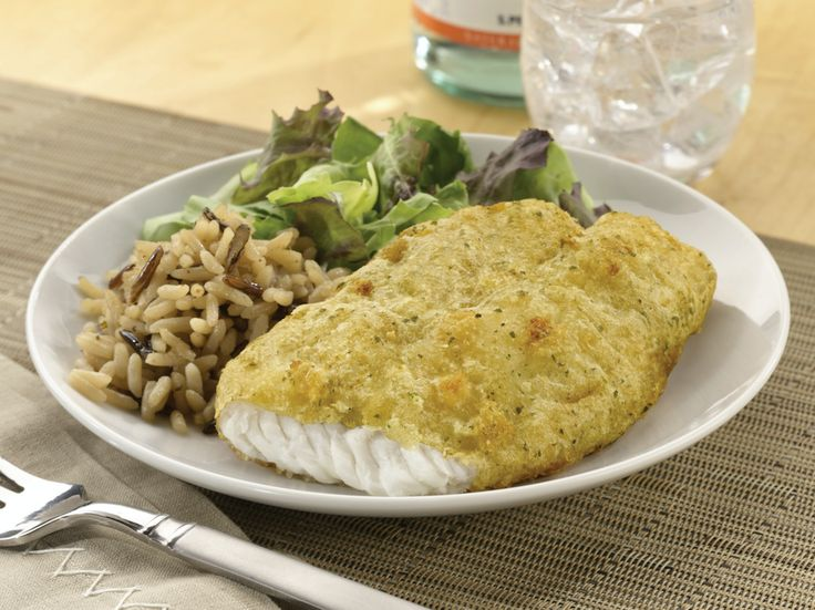 Our Skillet Crisp Tilapia is quite the catch. Pair it with rice & vegetables for a well-balanced #dinner! #recipe #fish #dinner #gortons #easy #quick #family