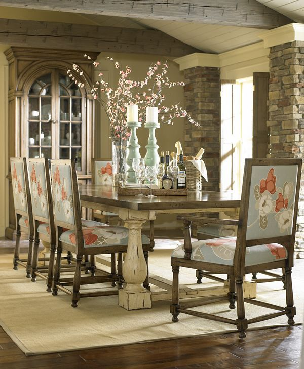 This Custom Made Antique Trestle Table Is Available In Sizes And Finishes With Varying Levels Of Distressing