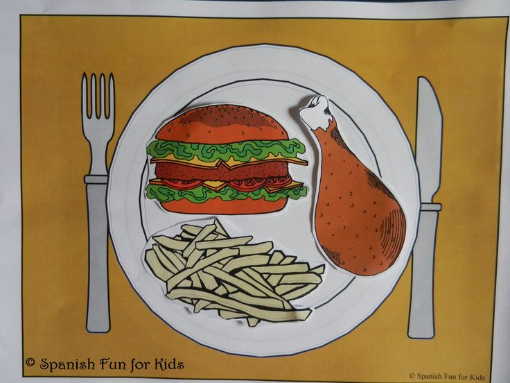 Fun Ideas and Activities with La Comida and Free activity sheets too!!!