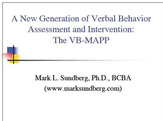 13 best VB-MAPP \/ Assessing Verbal Behavior images on Pinterest - sample presentation evaluation