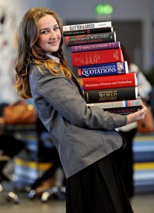 Meet the schoolgirl, 12, who has an IQ of 162... making her brainier than Einstein and Stephen Hawking