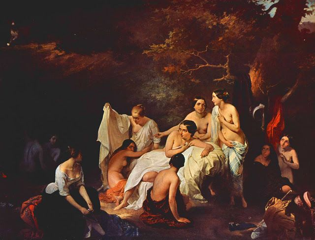 Το λουτρό των νυμφών (1831)