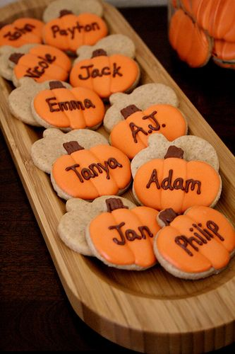 Pumpkin Spice Roll-out Sugar Cookies