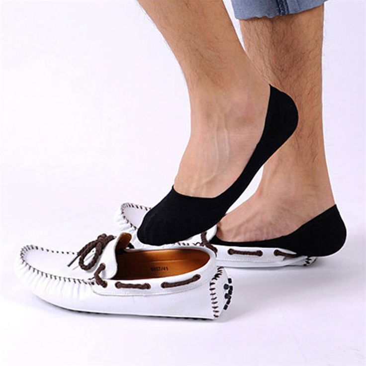 1 pairs Invisible Boat Slip With Men Cotton socks #women, #men, #hats, #watches, #belts