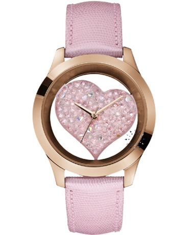 GUESS Crystal Pink Leather Strap Μοντέλο: W0113L5 Η τιμή μας: 143€ http://www.oroloi.gr/product_info.php?products_id=37499
