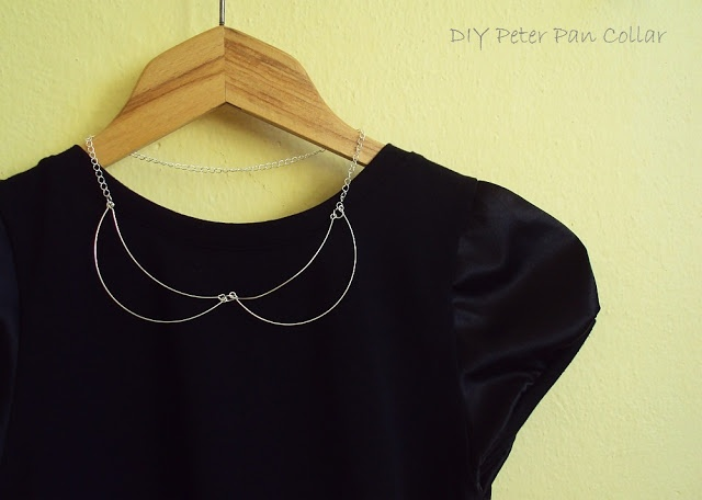Minimalistic Peter pan collar