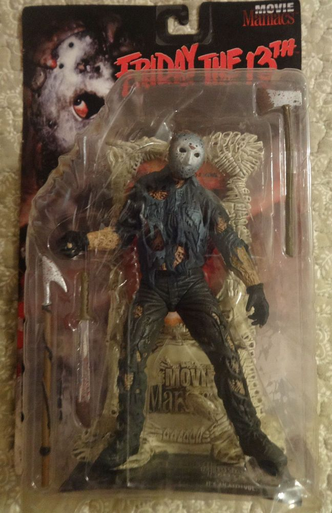 Toys For 13 : Mcfarlane toys jason voorhees friday the th movie