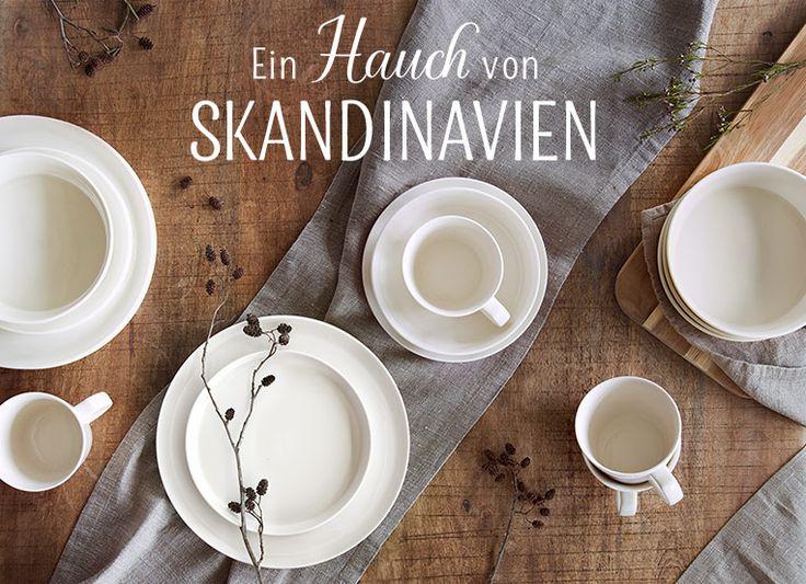 Ob Food Blogger, Skandi-Chic Liebhaber oder Gastgeber mit Sinn fürs Detail - über das Geschirr-Set Svea von Springlane Kitchen freuen sich alle