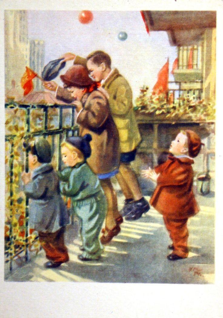 День победы открытки ссср детские, для фото одноклассников