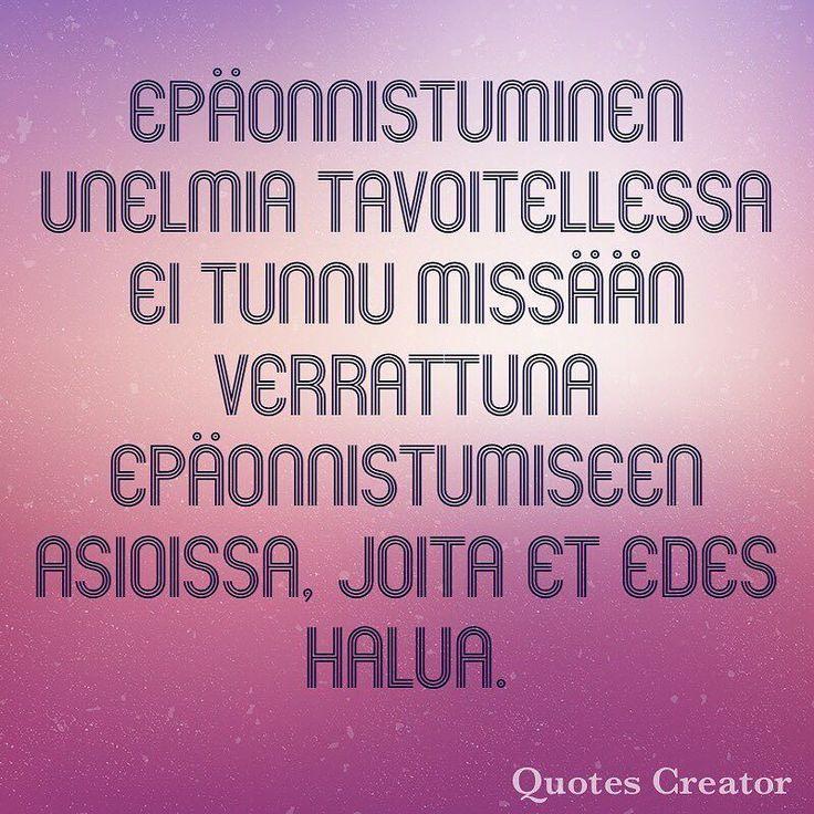 Epäonnistumiset ovat välietappeja onnistumiseen ja menestykseen! #onnistu #menetys #success #yolo #hakukonekeisari #warrior #doit #goforit #tulevaisuus