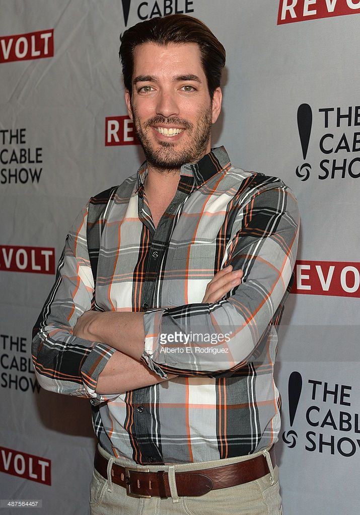 TV personality Jonathan Scott attends REVOLT and The National Cable and Telecommunications Association's Celebration of Cable at Belasco Theatre on April 30, 2014 in Los Angeles, California.