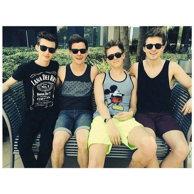 Troye Sivan, Connor Franta, Caspar Lee, and Marcus Butler