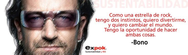 Bono y la sustentabilidad