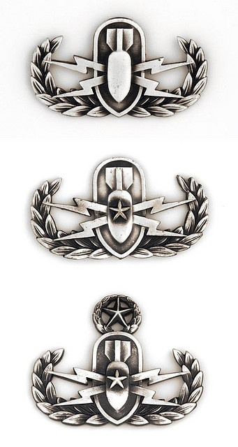 EOD BADGES | Navy EOD and SEALs | Pinterest | Badges, The ...