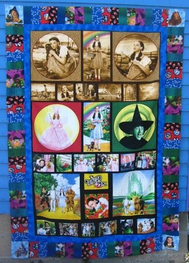 wizard of oz quilt | QUILT KIT Wizard of Oz Part One by lucyintheskyquilts on Etsy