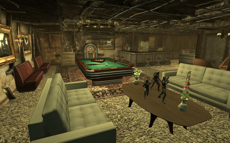 Fallout furniture