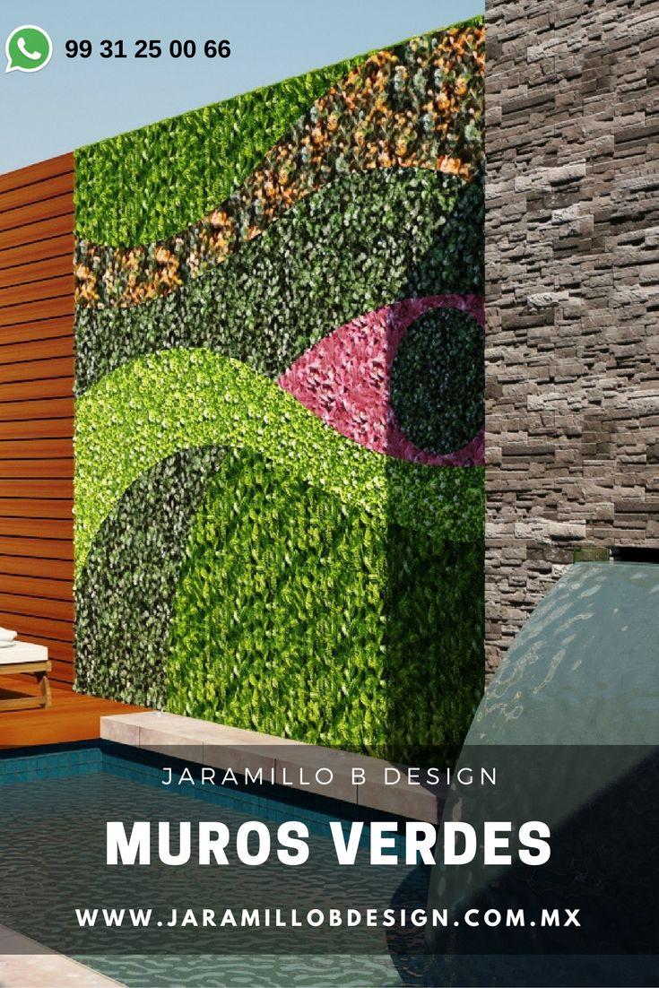 Las 25 mejores ideas sobre muros verdes en pinterest - Muros verdes verticales ...