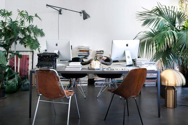Milano, a pranzo dalla coppia di designer David Lòpez Quincoces e Fanny Bauer Grung - Design news - GraziaCasa.it
