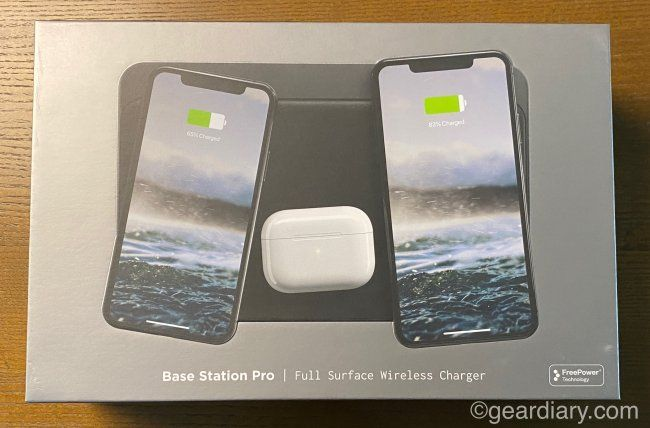 Nomad Base Station Pro Full Surface Wireless Charger Changes The Game Wireless Charger Apple Watch Charger Wireless