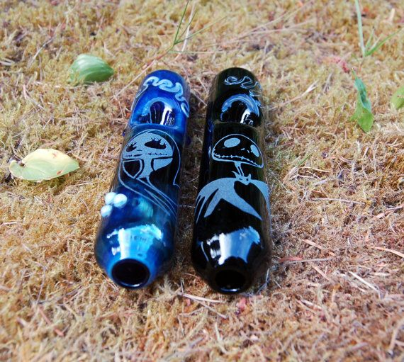 Jack and Sally Steamroller Set Free Shipping by cripplecreekglass