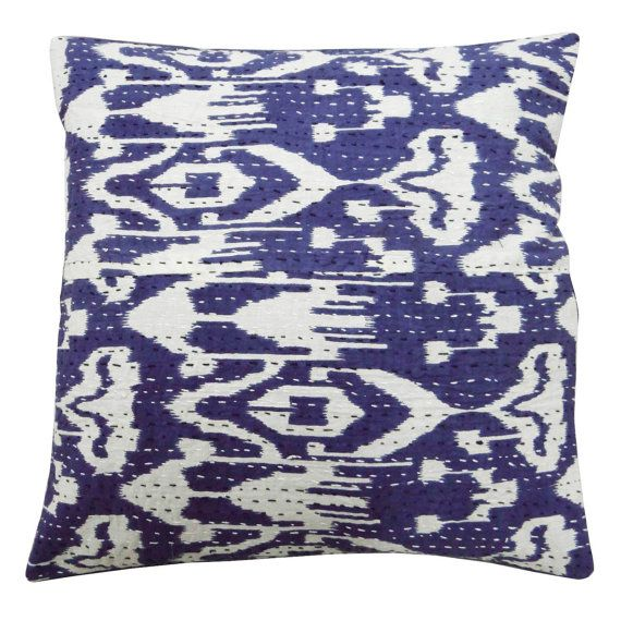 Free Shipping Handmade Decorative Cotton Cushion Cover Traditional Pillow Cover - PL14097