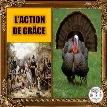 Powerpoint presentation depicting typical vocabulary for the American/Canadian Thanksgiving holiday.  Features two  well known American paintings: The First Thanksgiving by Jean Leon Gerome Ferrris (on the cover)  Freedom From Want by Norman Rockwell (pour le dner.) Vocabulary words in this file are:les plerins, la plerine, le plerin, les indiens, la dinde, le dindon, la rcolte, l'igname, la patate douce,  la sauce aux airelles, les pommes de terre, la pure, la farce, les poireaux, les…