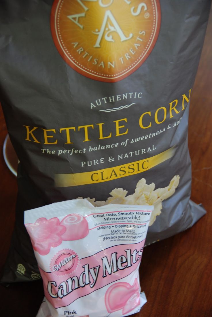 Simple Girl: Pink Popcorn (Easiest recipe ever with only 2 ingredients!!!)